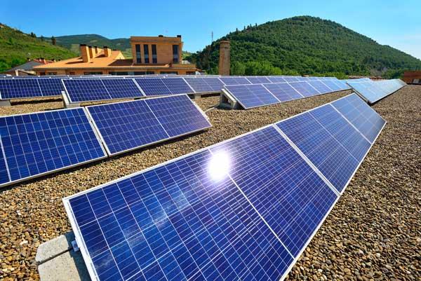 Energía solar en Navarra
